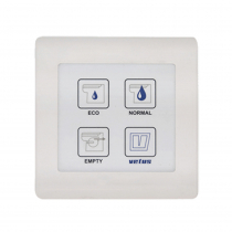 VETUS Electronic Control Panel For Toilet Type TMWQ 12 / 24 Volt