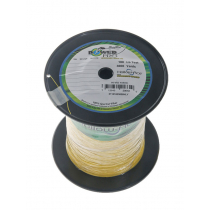 PowerPro Hollow Ace Spectra Braid Bulk Spool Hi-Vis Yellow 3000yd 100lb