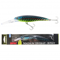 Rapala X-Rap Magnum 30 Deep Diving Lure 16cm Lime Light UV