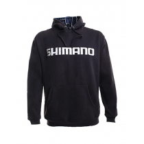 Shimano Collage Hoodie Charcoal Small