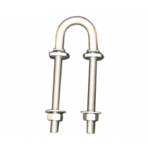 Cleveco Stainless Steel Collared U Bolt Backstay 10x110mm