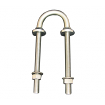 Cleveco Stainless Steel Collared U Bolt Backstay 10x150mm