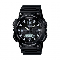 Casio AQS810W-1A Solar-Powered Sports Watch 100m