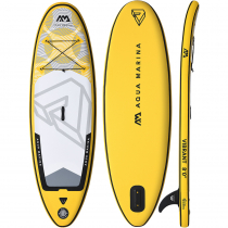 Aqua Marina Vibrant Youth Inflatable Stand Up Paddle Board 12ft 6in