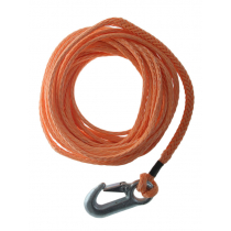 Synthetic Boat Trailer Winch Rope with Snap Hook 9m