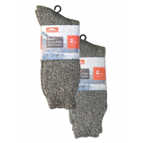 Mens Heavy Duty Work Socks 2-Pack