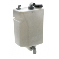 VETUS Bulkhead Mounted Waste Water Tank 60L