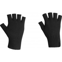 Icebreaker Merino Hybrid Highline Fingerless Gloves Black Large