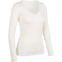 Icebreaker Womens Merino Siren Long Sleeve Shirt Sweetheart Snow