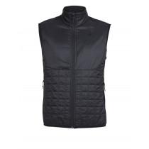Icebreaker Mens MerinoLOFT Helix Vest Black