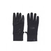 Icebreaker Merino Sierra Gloves with Silicone Palm Grip Black