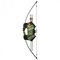 Barnett Lil Sioux Junior 15lb Recurve Archery Set Black