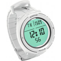 Cressi GOA Wrist Watch/Dive Computer White/Black