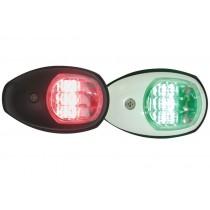 BLA Side Mount LED Navigation Lights Pair 12v