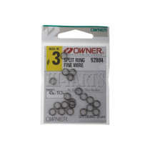 Owner P04 Fine Wire Split Ring 3 Qty 20