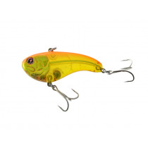 Sebile Flatt Shad Vibrating Crankbait Lure 77mm Blood Red Yellow
