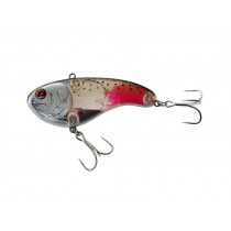Sebile Flatt Shad Vibrating Crankbait Lure 96mm Blood Red Dark