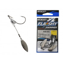 Owner Flashy Swimmer TwistLOCK Softbait Hooks Qty 2