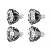 MR16 LED Bulbs 4 Pack Daylight White 12v