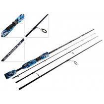 Shakespeare Slingshot Engage Travel Spinning Rod 7ft 2-4kg 4pc