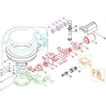 TMC Electric Marine Toilet Clean Water Pump Impeller