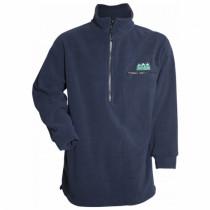 Ridgeline Mens Classic Fleece Bushshirt Navy
