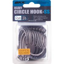 BKK Heavy Circle Hooks Super Slide Bulk Pack Qty 25