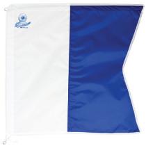 Pro-Dive Alpha Dive Flag Small 600x600mm