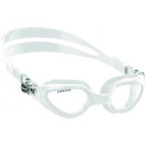 Cressi Right Anti-Fog Swimming Goggles White