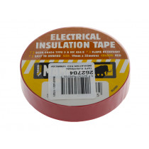Electrical Insulation Tape Red 19x33mm