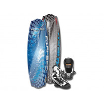 Airhead Fluid Wakeboard with Venom Boots US9-12