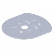 Raymarine Dome and Quantum Mounting Plate 2/4kW