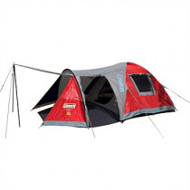 Coleman Egmont 3 Tent Red/Grey/Navy