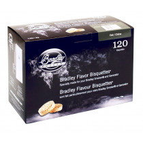Bradley Smoker Oak Flavoured Bisquettes 120 Pack