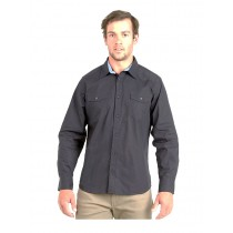 Swanndri Mens Aidonfield Cotton Long Sleeve Shirt