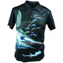 Mad About Fishing Broadbill Polo Shirt Small
