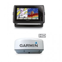 Garmin GPSMAP 741XS Chartplotter with GMR 18HD Radar