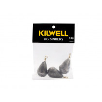 Kilwell Tear Drop Swivel Sinkers Pack 56g 2oz Qty 3