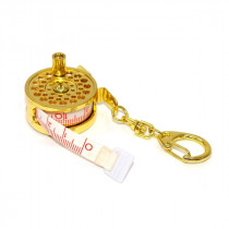 Kilwell Mini Fly Reel Tape Measure Key Holder