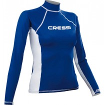 Cressi High-Stretch Womens Long Sleeve Rash Top