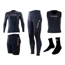 Aropec AquaThermal Watersports Clothing Range Specials Size XS-S