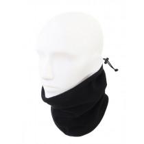 Black Shag Fleece Neck Warmer