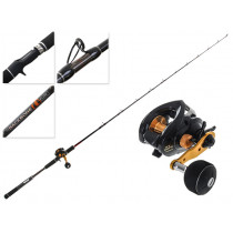 Shimano Genpu 200PG XT Baitcaster and Backbone Lucanus Slow Jig Combo 6ft 6in 80-150g 1pc
