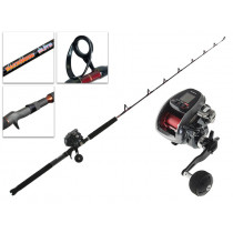 Shimano 2017 Dendou-Maru Plays 3000 and Backbone Elite Electric Jigging Combo 5ft 5in 200g 1pc