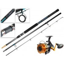 PENN 850 SSM and Shimano Aquatip Surfcasting Combo 14ft 6-12kg 3pc
