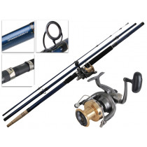 Daiwa Crosscast 6000 and Procyon Surfcasting Combo 10-15kg 14ft 3pc
