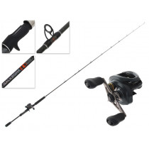 Shimano Curado 200HG K and Lucanus Slow Jig Combo 6ft 6in 80-150g 1pc