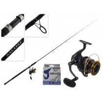 Daiwa BG16 5000 and Saltist Bluewater SJ 792H Stickbait Combo with Braid 7ft 9in 30-100g 2pc