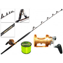 TiCA 50WTS 2-Speed and Kilwell Fully Rollered Big Game Combo IGFA 5ft 7in 24kg 1pc