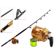 TiCA 80WTS 2-Speed and Kilwell Fully Rollered Big Game Combo IGFA 5ft 7in 37kg 1pc
